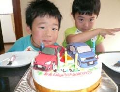 トヨタ86とスペイド立体ケーキ
