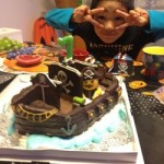 パイレーツオブカリビアン海賊船ケーキ♪