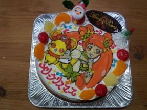 キュアロゼッタ&ランスのケーキ♪