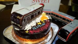 電車(副都心線)立体ケーキ♪