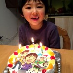 トイストーリーと似顔絵のケーキ