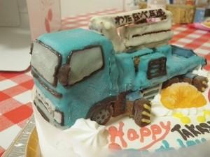 コンクリートポンプ車ケーキ