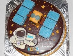 探査機はやぶさ2ケーキ