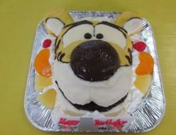 タイガー立体ケーキ