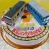 電車ケーキ