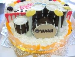 ドラム立体ケーキ