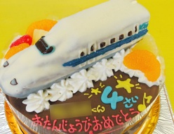 700系新幹線ひかり(のぞみ)立体ケーキ