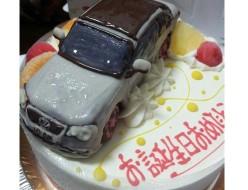 ワーゲン車立体ケーキ