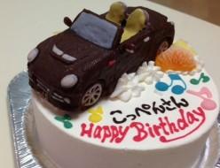 コペン立体ケーキ