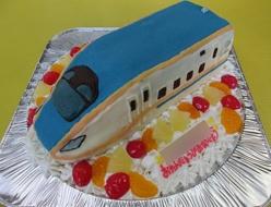 北陸新幹線ケーキ
