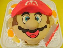 マリオ立体ケーキ