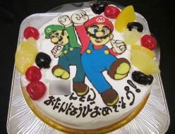スーパーマリオケーキ