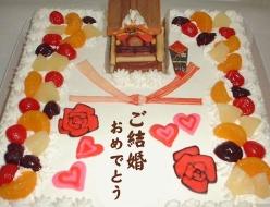 大阪だんじり立体ケーキ