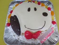 スヌーピーケーキ
