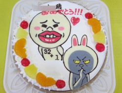 LINEスタンプケーキ