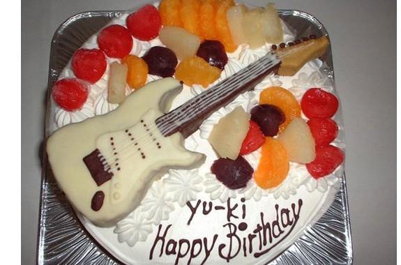 ギター立体ケーキ