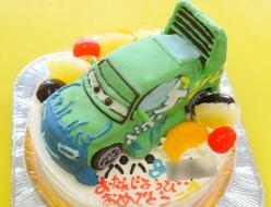 カーズ(ウィンゴ)立体ケーキ