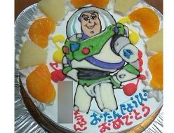 トイストーリー、バズ・ライトイヤーケーキ