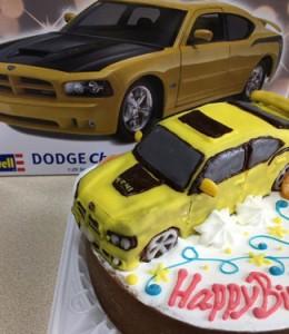 外車立体ケーキ