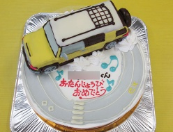 FJクルーザー車立体ケーキ