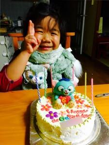 ジェラトーニのケーキ