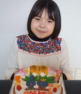 ポケモン、ナゾノクサのお雛さんケーキ