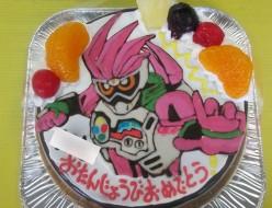 仮面ライダーエグゼイドケーキ