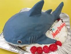 ホオジロザメケーキ