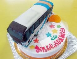 JR四国バス立体ケーキ