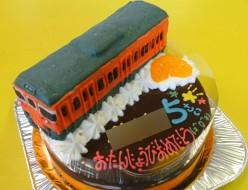 JR113系電車ケーキ