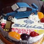 日産シルビア車ケーキ