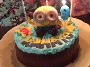ミニオンズケーキ
