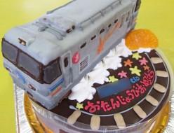 カシオペア電車ケーキ