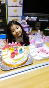 プリンセスパレスケーキ