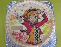アニメキャラクターケーキ