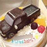 タンドラ車立体ケーキ