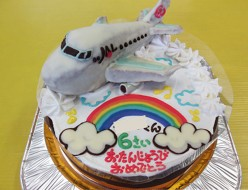 JAL飛行機ケーキ