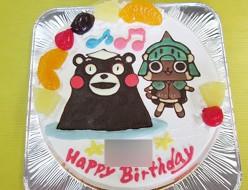 くまモンとアイルのケーキ