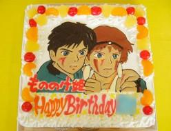 もののけ姫のケーキ