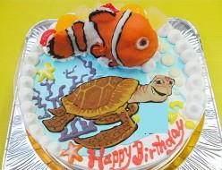 ニモ魚ケーキ