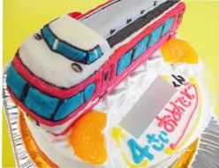 小田急7000系ロマンスカー電車ケーキ