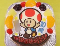 キノピオケーキ