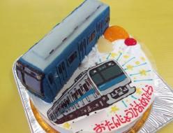 電車ケーキ、相鉄線と京浜東北線