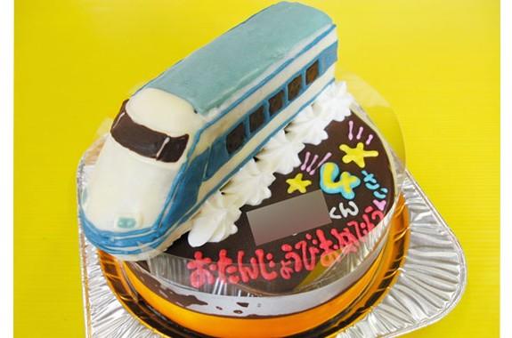 スペーシア電車ケーキ