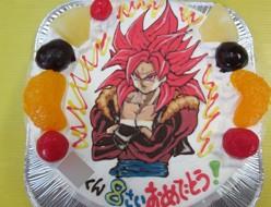 ドラゴンボール、スーパーサイヤ人ケーキ