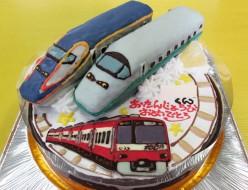 新幹線つばさ・京浜急行ケーキ