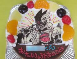 仮面ライダーゲンムケーキ
