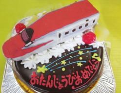 新幹線こまちケーキ