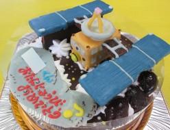 小惑星探査機はやぶさ立体ケーキ