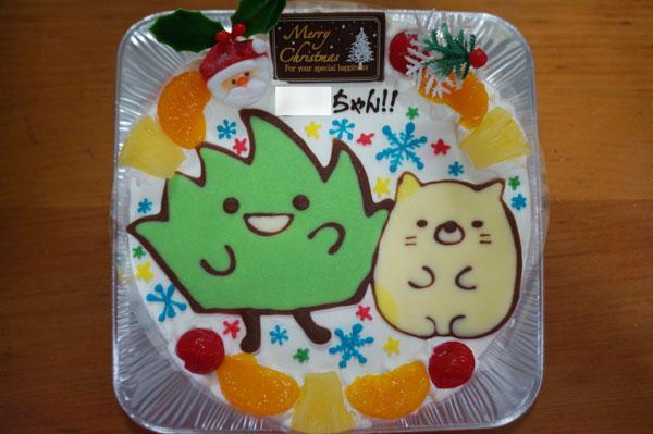 すみっこぐらしケーキ